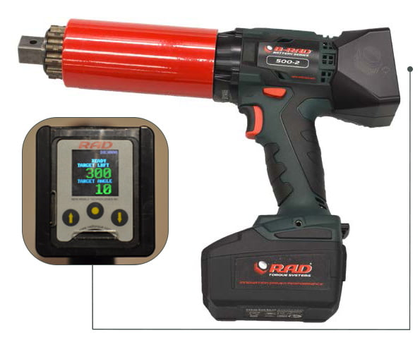 DB-RAD - Battery Powered Torque Series - Rad Torque Tools