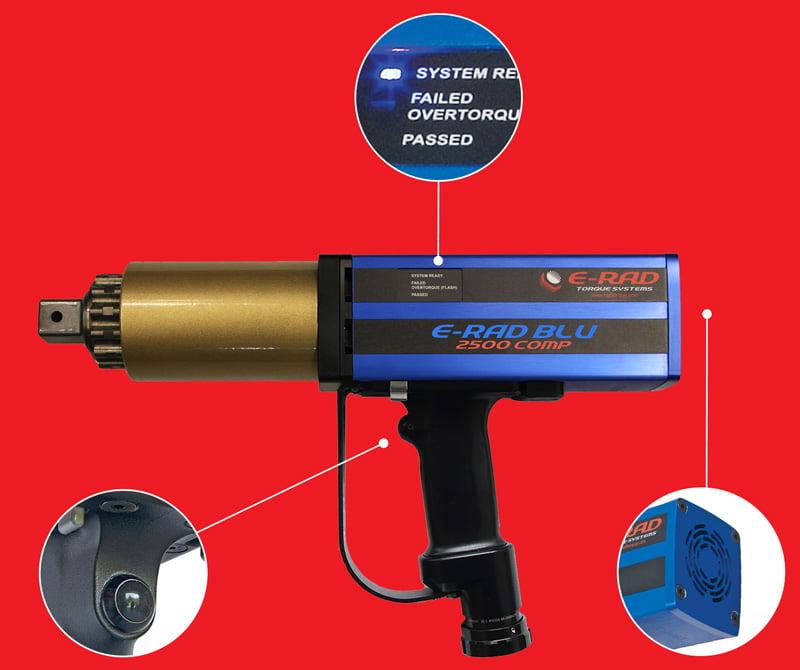 E-RAD Blu Touch Control Case - E-RAD Blu Electronic Torque Tools - Rad Torque Tools