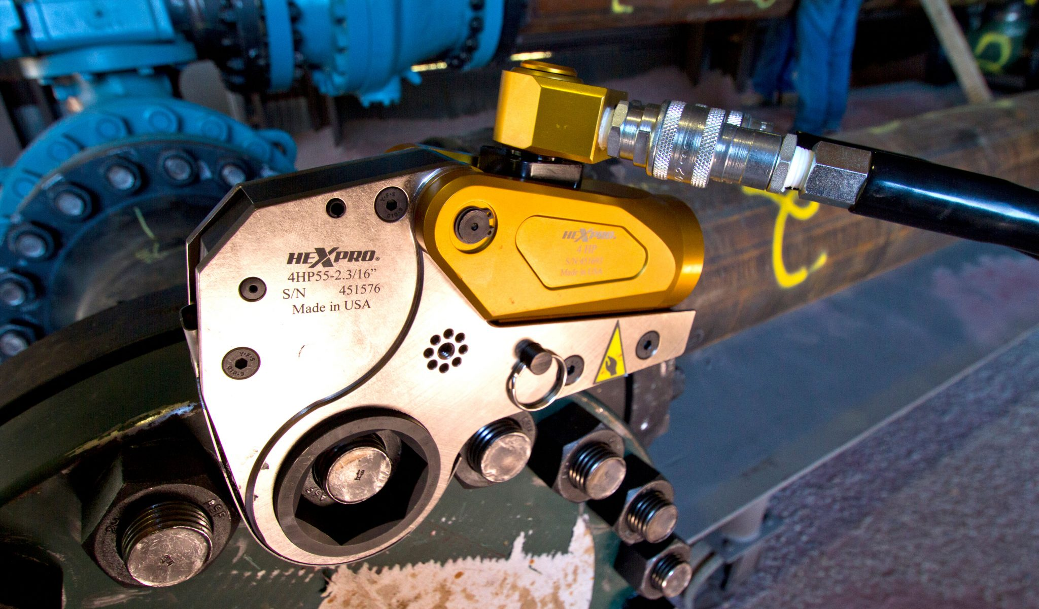hydraulic low profile torque wrench - Radical Torque Solutions