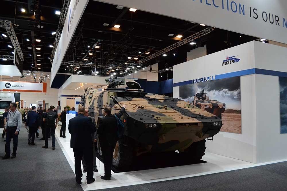 military tank exhibit