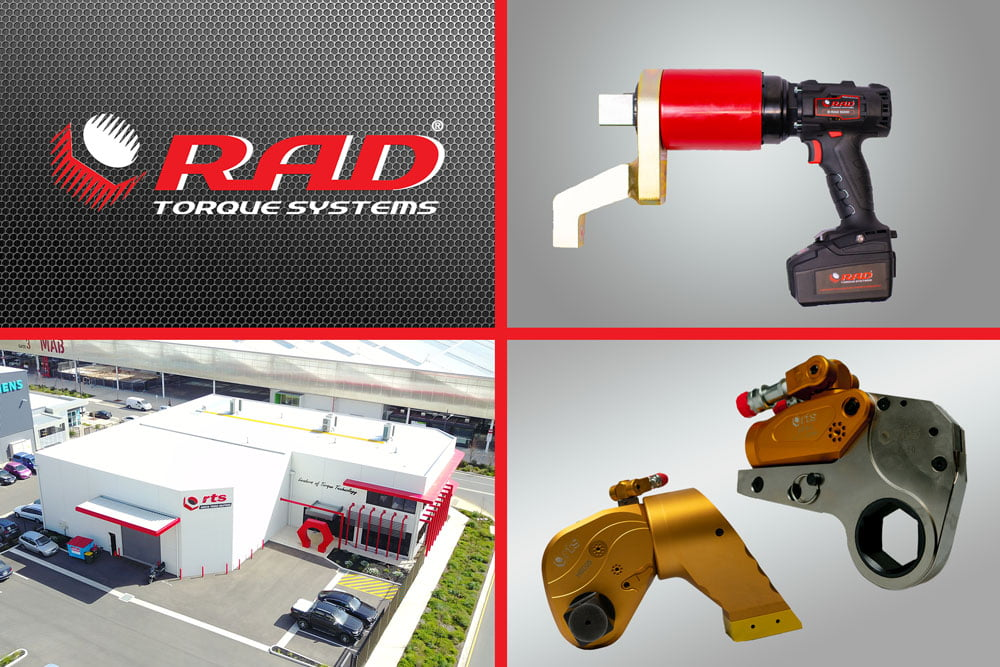Logo, Location and Products - Radical Torque Solutions