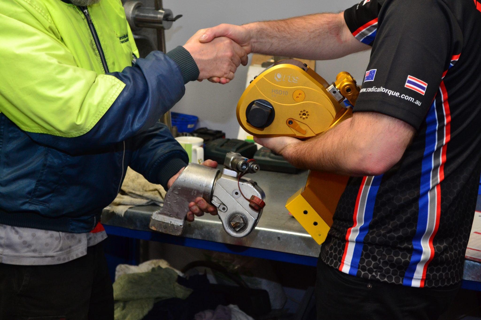 Hydraulic Tool Trade in